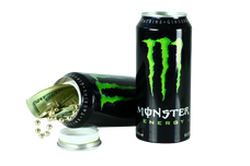 Safe Cans Monster Green Storage Compartment