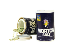 Safe Cans Morton Salt Storage Compartment