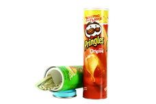 Safe Cans Pringles Chips Storage Compartment