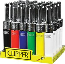 Clipper Minitube Solid Color Lighters - Mixed Colors