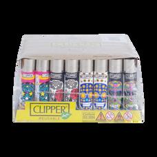 Clipper Skulls Collection Lighters - Skulls 5 - Mixed Colors/Designs