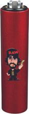 """Clipper x Raw Mini """"Raw Guy"""" Design Lighters - 30ct Display"""