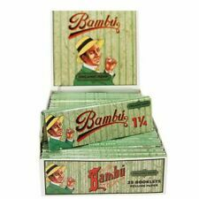 Bambu Organic Hemp 1 1/4 Size Rolling Papers