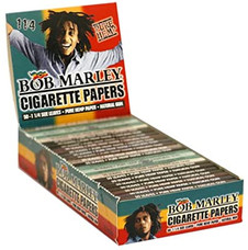 Bob Marley Classic 1 1/4 Size Rolling Paper w/ Tips
