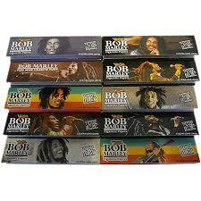 Bob Marley Classic King Size Rolling Papers w/Tips