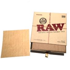 """Raw Precut 5x5"""" 500 Count Parchment Paper"""