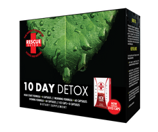 Rescue Detox 10 Day Permanent Detox (4 Different Capsules and 8 Bonus Ice Capsules) - 152 Total Capsules