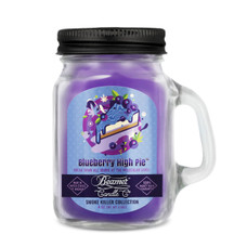 Beamer Smoke Killer Collection 4oz Candle - Blueberry High Pie Scent