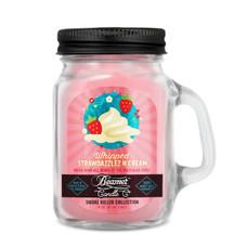 Beamer Smoke Killer Collection 4oz Mini Candle - Whipped Strawdazzlez n Cream Scent