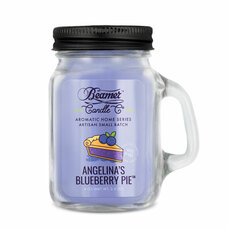 Beamer Aromatic Home Series 4oz Mini Candle - Angelina's Blueberry Pie Scent