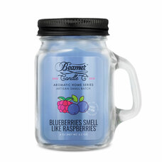 Beamer Aromatic Home Series 4oz Mini Candle - Blueberries Smell Like Raspberries Scent
