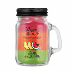Beamer Aromatic Home Series 4oz Mini Candle - Ménage à Mela Trois Scent