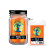 Michigan Peach Tree 12oz Smoke Killer Collection Candle & Wax Drop Bundle
