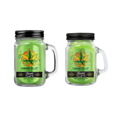Cannabis Killer 12oz & Mini 4oz Smoke Killer Collection Candle Bundle