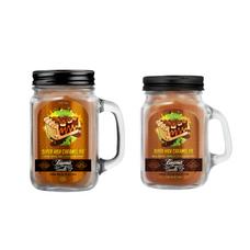 Super High Caramel Pie 12oz & Mini 4oz Smoke Killer Collection Candle Bundle