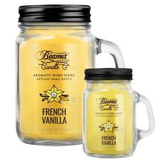 French Vanilla 12oz & Mini 4oz Aromatic Home Series Candle Bundle