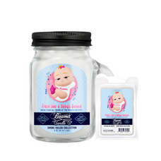 Fresh Like A Baby's Behind 4oz Mini Smoke Killer Collection Candle & Wax Drop Bundle