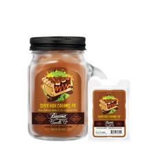 Super High Caramel Pie Mini 4oz Smoke Killer Collection Candle & Wax Drop Bundle