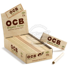 OCB Organic Hemp 1 1/4 Size Rolling Papers
