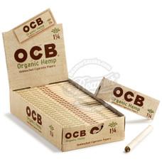 OCB Organic Hemp 1 1/4 Size Rolling Papers
