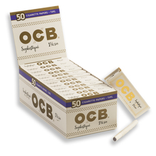 OCB Sophistique 1 ¼ Size Rolling Papers Pack with Rolling Tips
