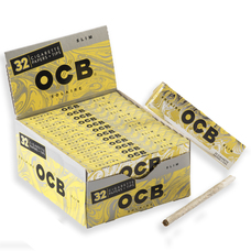 OCB Solaire King Size Papers with Rolling Tips