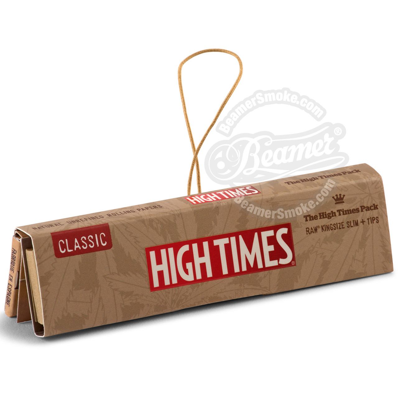 14623e35c4e59 High Times x Raw Natural Connoisseur King Size Rolling Papers with Rolling  Tips
