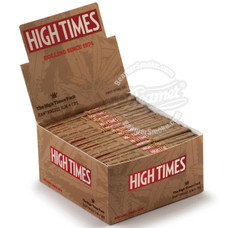 High Times x Raw Natural Connoisseur King Size Rolling Papers with Rolling Tips