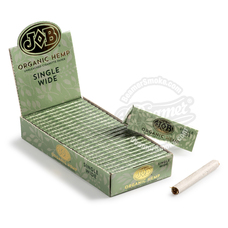 Job Organic Hemp Single Wide Size Rolling Papers