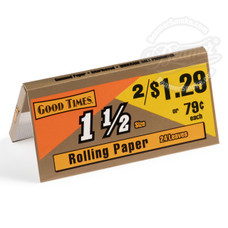 Good Times 1 ½ Size Rolling Papers