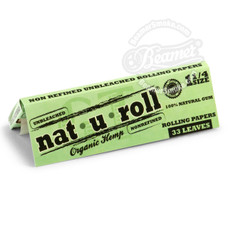 Nat-U-Roll Organic Hemp 1 1/4 Size Rolling Papers