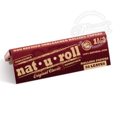Nat-U-Roll Original 1 1/4 Size Rolling Papers