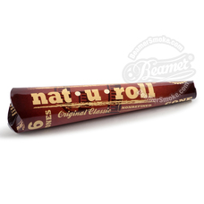 Nat-U-Roll Original 1 1/4 Size Pre-Rolled Cones - 6 Count Packs