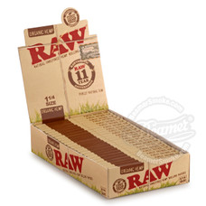 Raw Organic 1 1/4 Size Rolling Papers