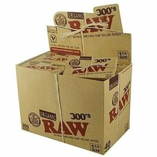 Raw Natural 300's 1 ¼ Size Rolling Papers