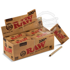 Raw Natural 200's King Size Rolling Papers