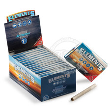 Elements Rice Artesano 1 ¼ Size Rolling Papers with Rolling Tips and Tray