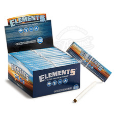 Elements Rice Connoisseur King Size Rolling Papers with Rolling Tips