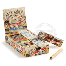 Cheech & Chong Unbleached 1 ¼ Size Rolling Papers