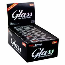 Glass Transparent 1 ¼ Size Rolling Papers
