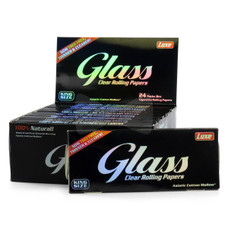 Glass Transparent King Size Rolling Papers
