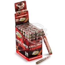 Cyclones Strawberry Flavor Transparent Cones - 2 Count Packs
