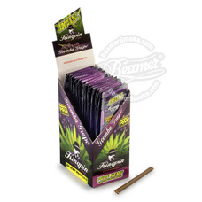 Kingpin Goomba Grape Flavor Hemp Wraps - 4 Count Packs