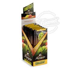 Kingpin Mango Tango Flavor Hemp Wraps - 4 Count Packs