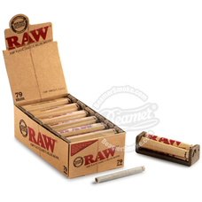Raw 79mm Hemp Plastic Roller
