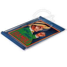 "Bambu Medium Plastic Rolling Tray - 13.5"" x 9"""