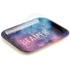 "Beamer Large Metal Rolling Tray, Outer Space Design - 13.5"" x 11"""