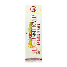 High Hemp Blazing Cherry Flavor Hemp Wraps - 2 Count Packs