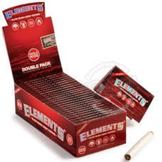 Elements Slow Burn Hemp Single Wide Size Rolling Papers