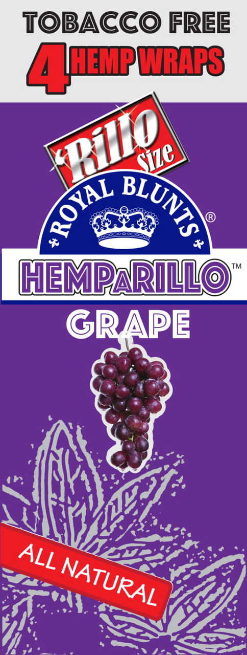 Royal Blunts Hemparillo Hemp Wraps 15/4ct - Wraps & Cones